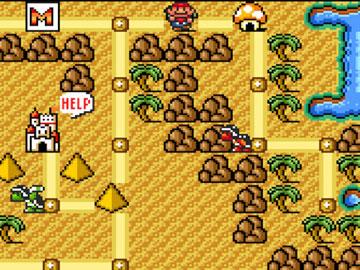 Flauta del Mundo 2 en Super Mario Bros 3