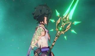 Halcón de Jade en Genshin Impact