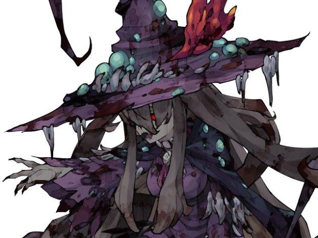 Bruja Oscura Irène en Ender Lilies