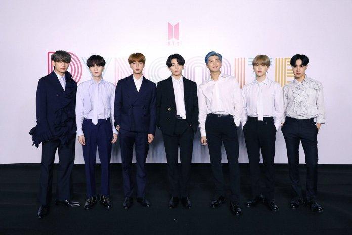 BTS Blue Sky