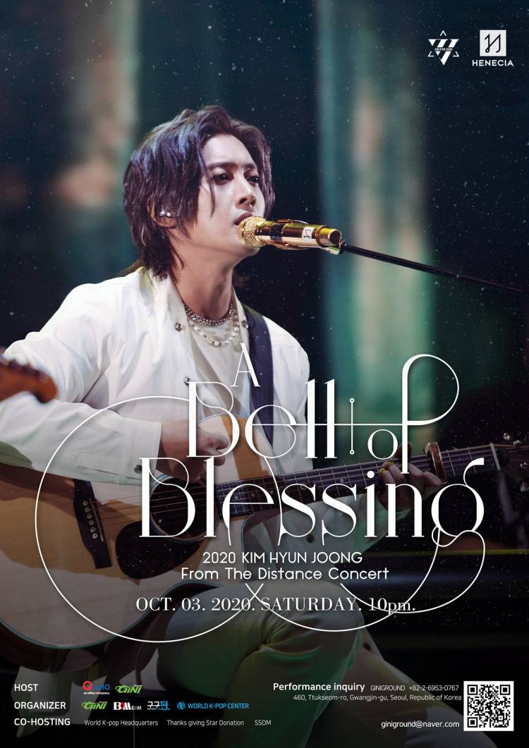 2020 KIM HYUN JOONG From The Distance Concert 'A Bell of Blessing'