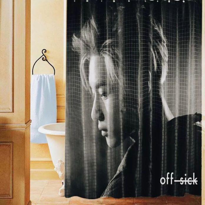 ม่านห้องน้ำ ลาย แทมิน SHINee