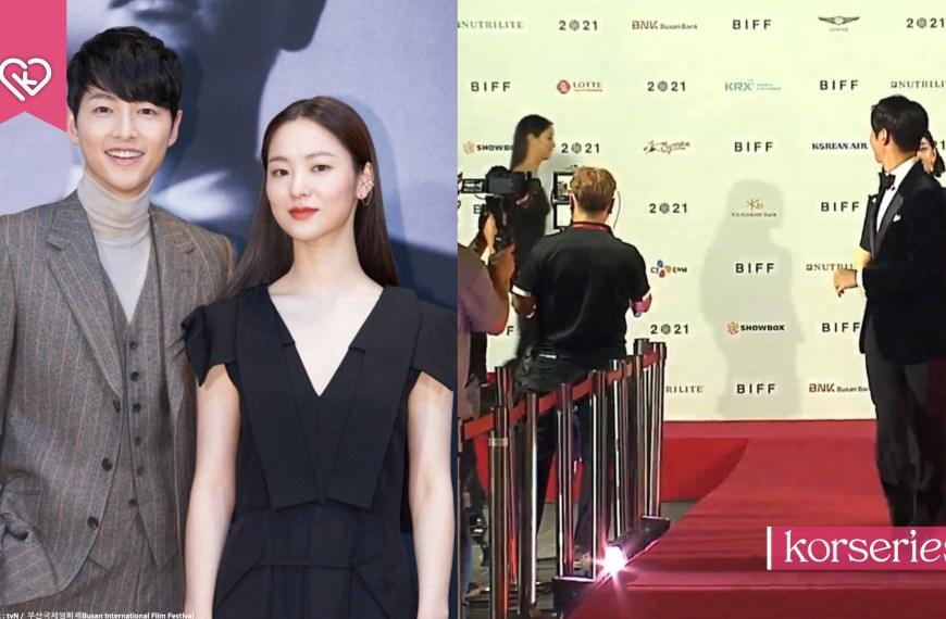 กลายเป็นโมเมนต์ไวรัล! 'ซงจุงกิ-จอนยอบิน' บนพรมแดงงานเทศกาลภาพยนตร์นานาชาติปูซาน