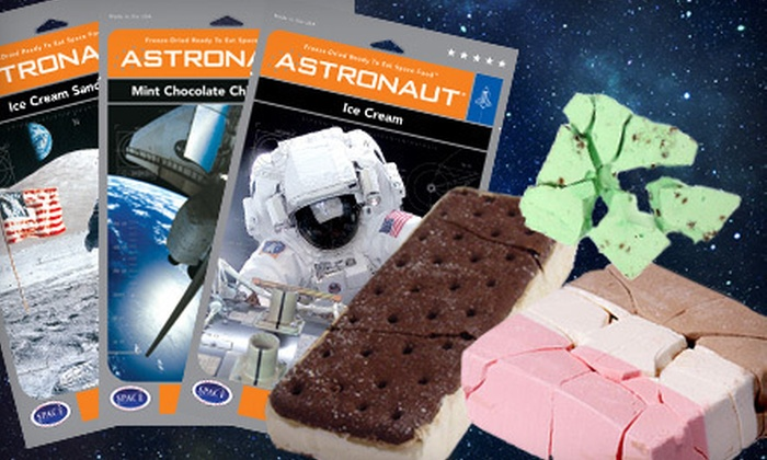 Image result for astronaut ice cream