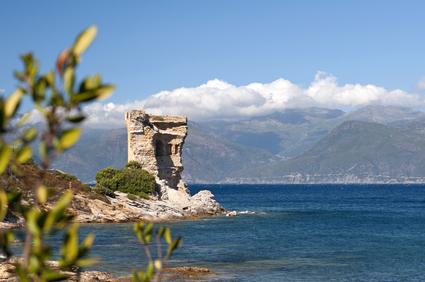 Genoese Turm auf Korsika