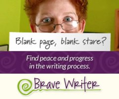 Brave Writer: Peace and progress in the writing process