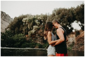 Riverbank Couples Photography Session