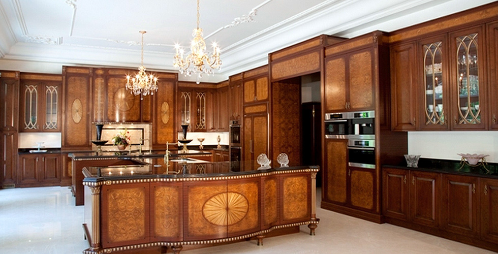 Majestic Manner Bespoke Kitchen Cabinetry Inspired By The Nineteenth Century French Style
