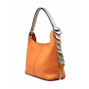 muotilaukku-oranssi