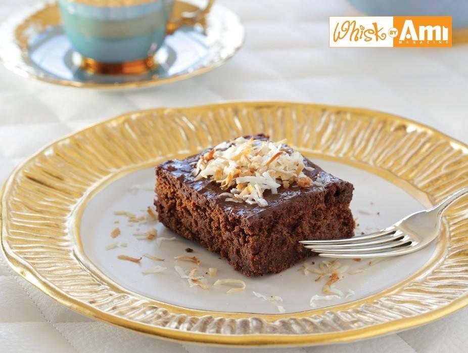Parve Chocolate Mousse Cake