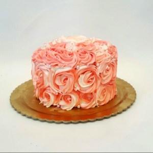 rosette-cake