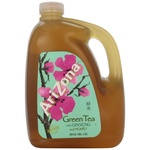 Arizona Green Tea with Ginseng and Honey 378L
