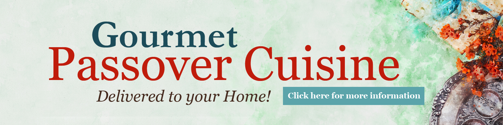Gourmet Glatt Kosher Passover Meals Delivered to Your Door