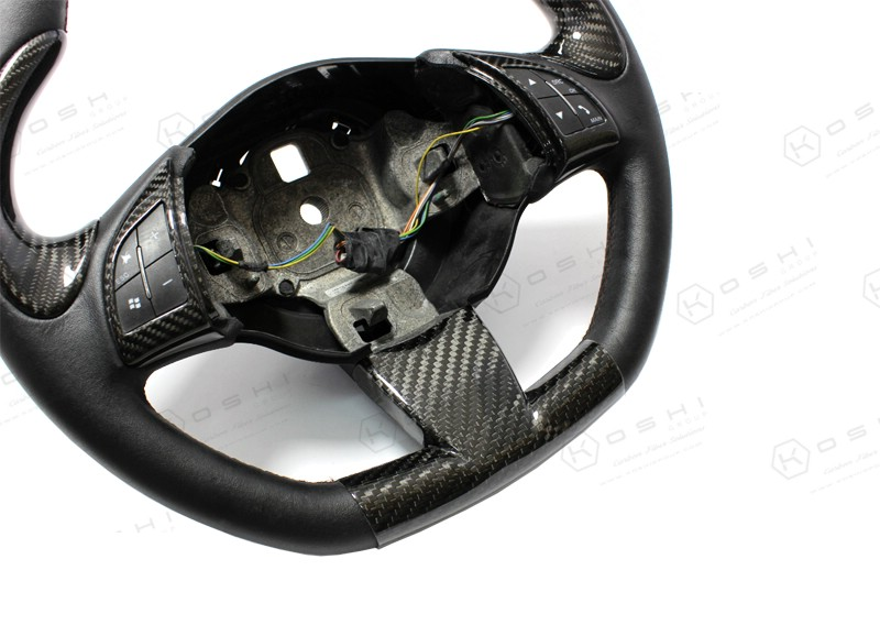 ABARTH FIAT 500 Steering Wheel Lower Cover | Koshi Group LLC