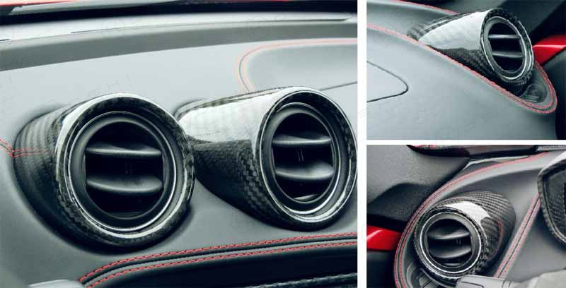 Alfa Romeo 4C Interior Air Vent Cover