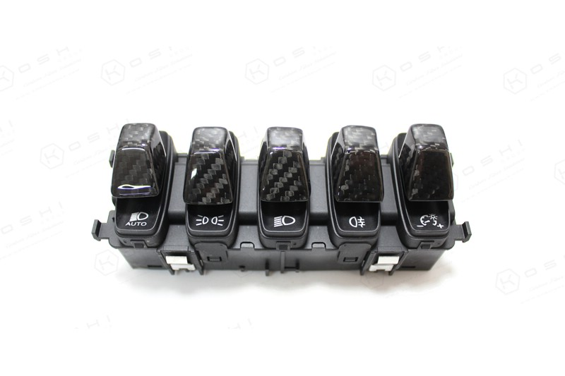Lamborghini Huracan LP610-4 Spyder Multiple Light Switch Buttons