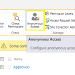 Using PowerShell to modify anonymous access permissions on SharePoint On-Premises