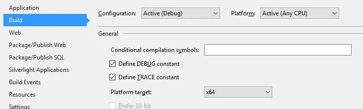 64-bit build option