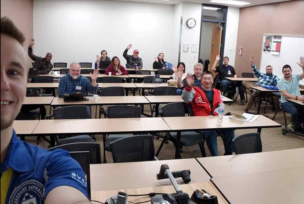 My session at SPS Twin Cities had a bunch of hardy Minnesotans despite the weather!