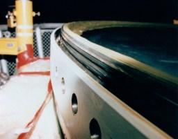 Detailní fotografie O-kroužků