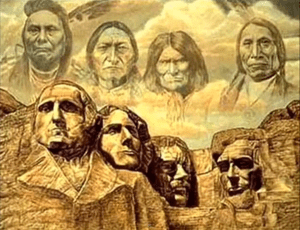 Founding Fathers. illustration | Native Americans