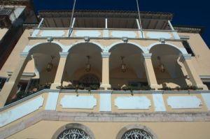 Το κτίριο της Αναγνωστικής Εταιρίας Κέρκυρας, όπου απόκειται σήμερα το αρχείο Πιέρρη