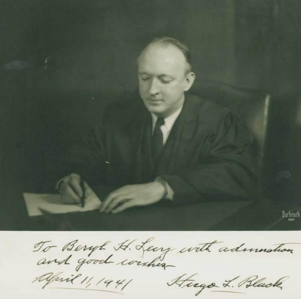 Hugo Black, μέλος του Ανώτατου Δικαστηρίου των ΗΠΑ από το 1937 ως το 1971