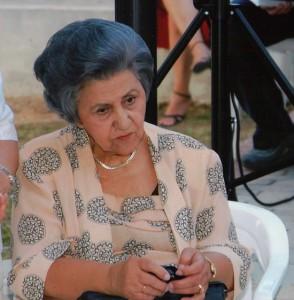 Η Νίκη Τρυπιά σε εκδήλωση μνήμης για τον πατέρα της Νίκο Τρυπιά στο ΠΠΙΕΔ, 21.06.2006