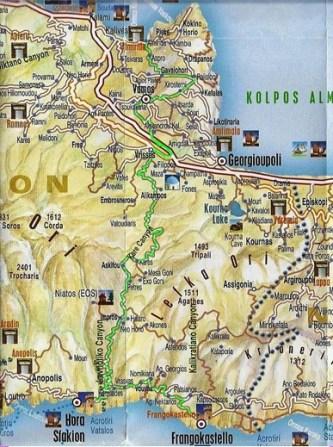 Routes in Chania,Crete