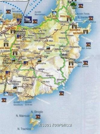 Routes in Lassithi,Crete