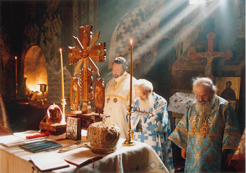 Image result for byzantine eucharist