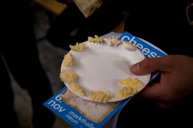 Butter in 10 verschiedenen Reifegraden