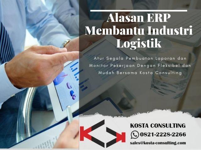 Alasan ERP Membantu Industri Logistik