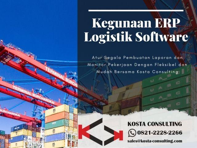 Kegunaan ERP Logistik Software