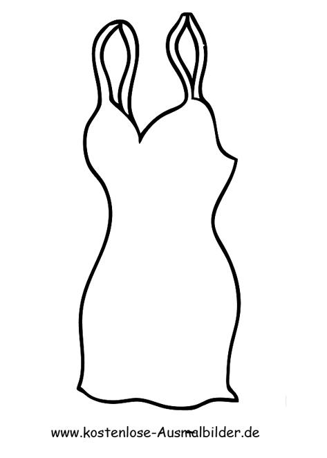 Ausmalbilder Brautkleid Kleidung Zum Ausmalen