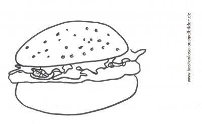 Ausmalbilder Lebensmittel Lebensmittel Ausmalen