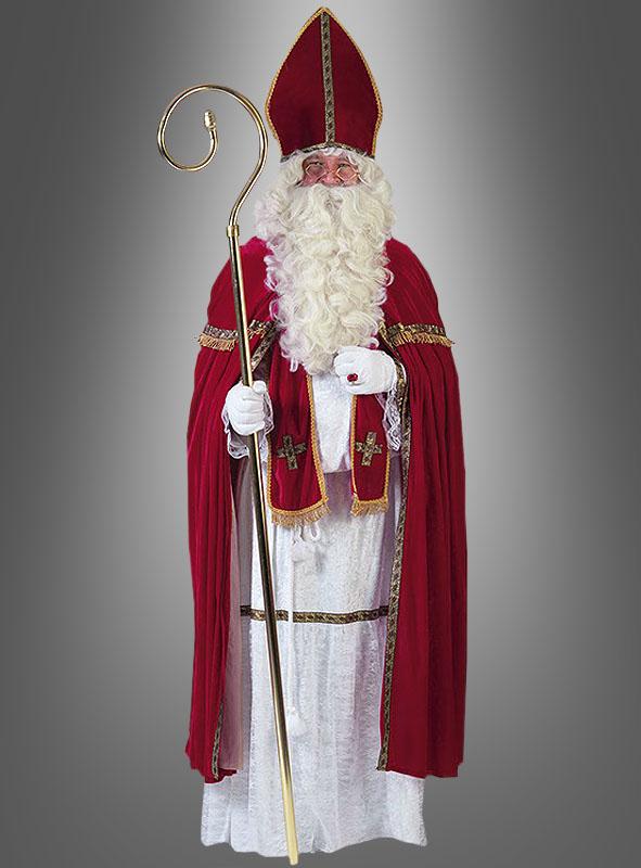 Bischof Nikolaus Kostüm für Erwachsene - bis XXL