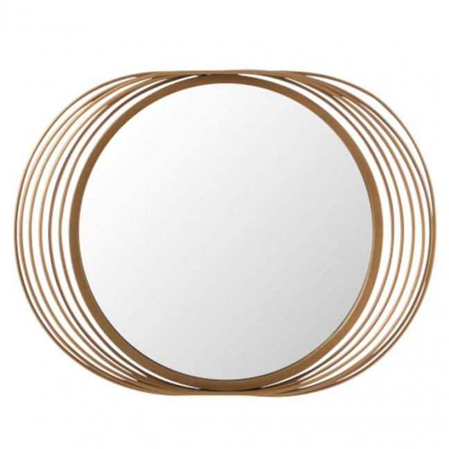 miroir rond decoratif a suspendre style vintage pas cher kotecaz fr