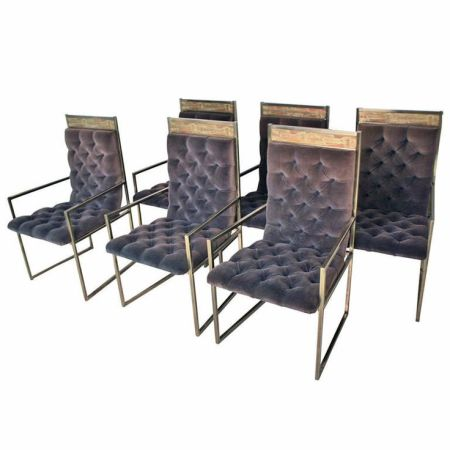 Purple Upholstery Dining Chairs