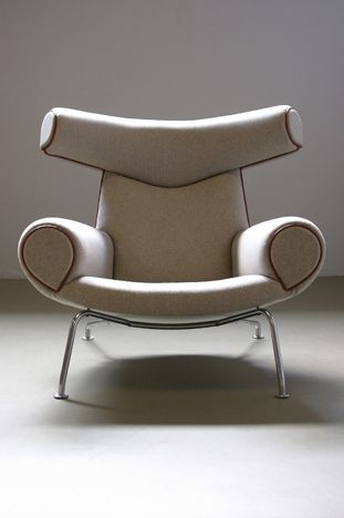 Beige Faux leather Chair