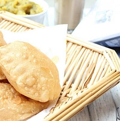 Puri – Poori Recipe and Potato Masala Recipe | Indian Deep Fried Wheat Flat Bread with Potato Masala Recipe