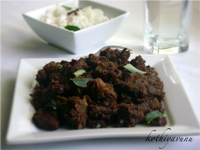 Chettinad Mutton Chukka Varuval-Spicy Lamb Dry Curry