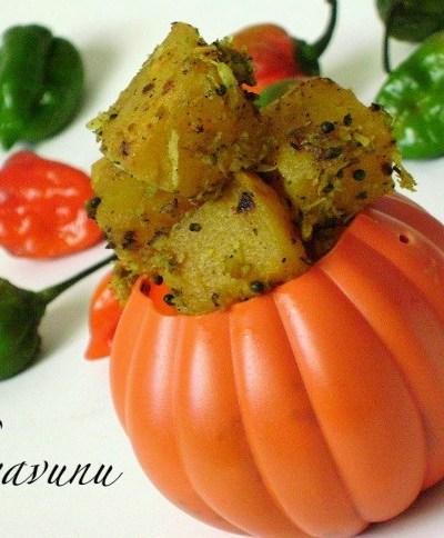 Mathanga Thoran /Upperi /Pumpkin Stir Fry