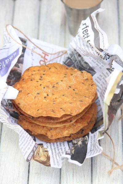 Pappada Vada Recipe | Pappad Fritters  Recipe | Crispy Lentil Flatbread Fritters
