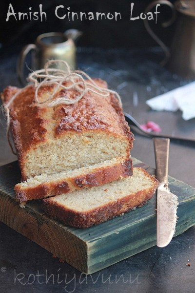 Amish Cinnamon Friendship Bread Recipe