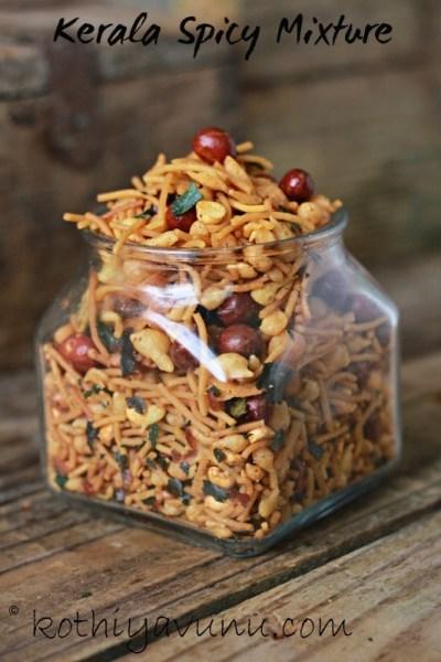 Kerala Spicy Mixture Recipe – South Indian Mixture Recipe