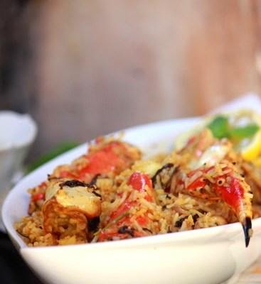 Crab Dum Biryani-Njandu Biryani-Kerala Style