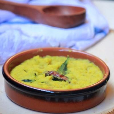 Nadan Kerala Parippu Curry-Kerala Sadya Recipes