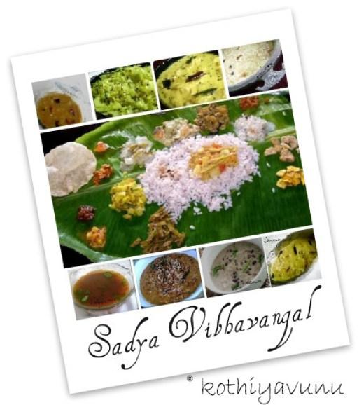 Onam Recipes - How to serve onam sadya