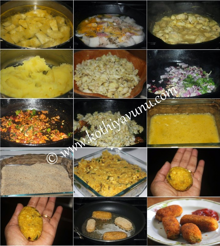 Tapioca Fish Cutlet -Kappa Meen Cutlet |kothiyavunu.com